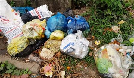 Trang An tourist site polluted by rubbish on festival season