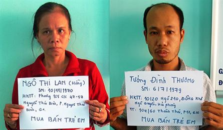 HCM City police bust baby-trading ring