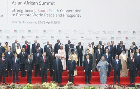 President Sang calls for strong ties between Asia and Africa