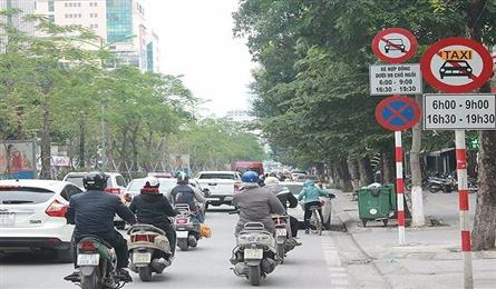 Removal of taxi ban in many Hanoi streets proposed