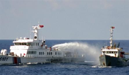 No signal deescalation by China on Vietnamese waters