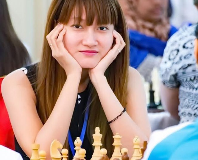 Phụng tops Asia chess championship