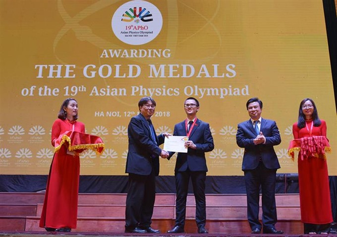 Asian physics olympiads