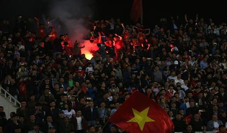 VFF fined VND40,000 for AFC U23 Championship flare incidents