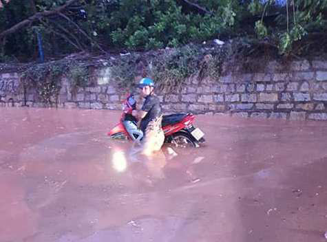 Real estate project causes mud spill in Binh Thuan