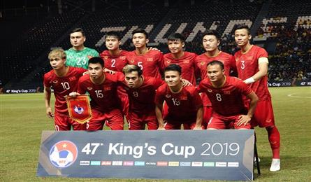 Vietnam moves up in FIFA ranking after King's Cup display