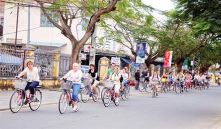 Bicycle sharing scheme hits the road in Hoi An