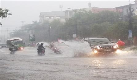Typhoon Sonca to hit central Vietnam