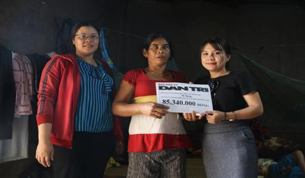DTiNews readers support blind mother and cerebral palsy child