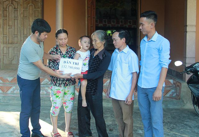 Dantri/DtiNews readers continue supporting four children
