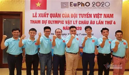 Vietnam wins gold medal at European Physics Olympiad