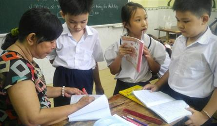 Teaching kids who can't afford schooling