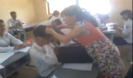 Teacher suspended for violence against a student
