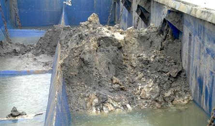 Vessel detained for discharging waste into sea
