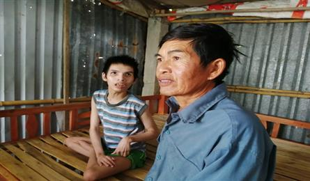 Ailing man with disabled son needs help