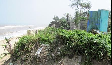 Erosion puts homes at risk
