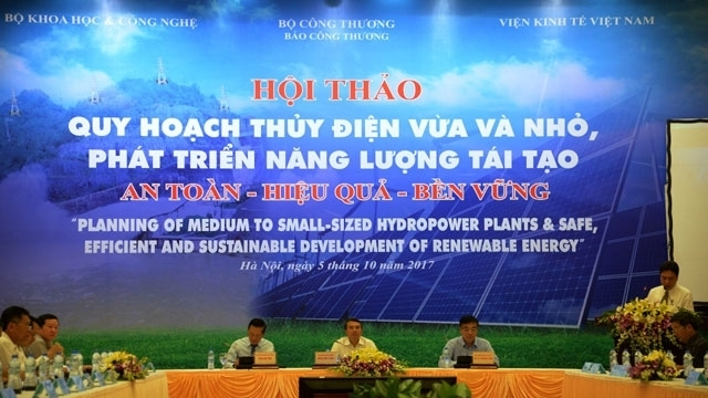 Seminar discusses planning of hydropower plants for renewable energy development