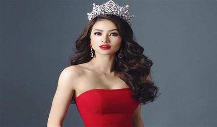 Pham Thi Huong prepares for Miss Universe