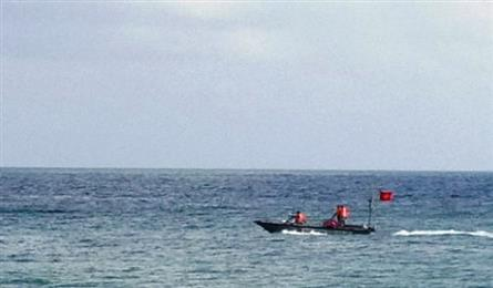 Binh Dinh search for pupil missing at the sea