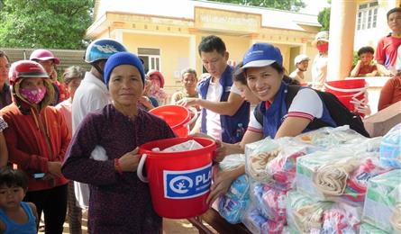 Plan International helps flood victims resume daily lives