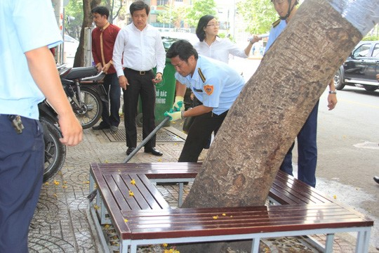 HCM City clears up pavement for Tet Holiday