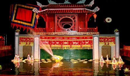 Vietnamese water puppetry to participate in Indian theatre festival