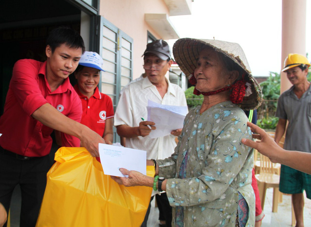 Support given to flood victims