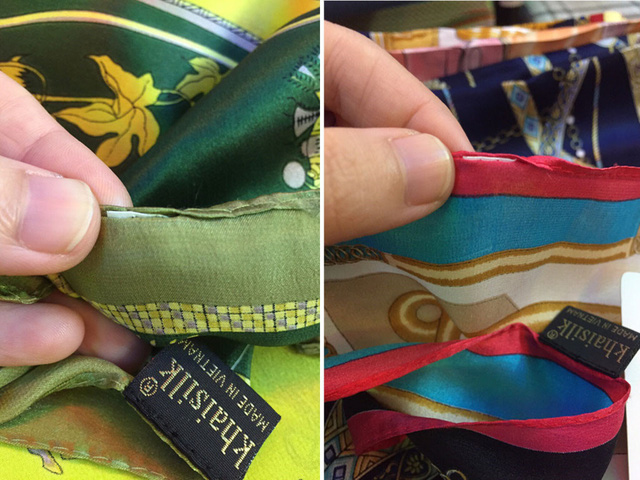 Khaisilk accused of selling fake silk products