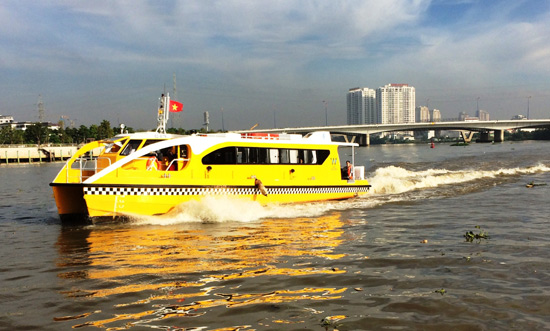 Waterway buses prove successful for HCM City