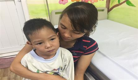 Parents struggle to cover surgery costs for ill son