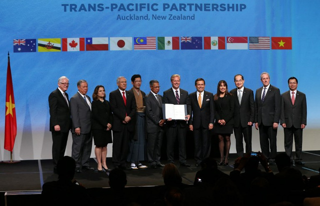 12 countries sign Trans-Pacific Partnership in New Zealand