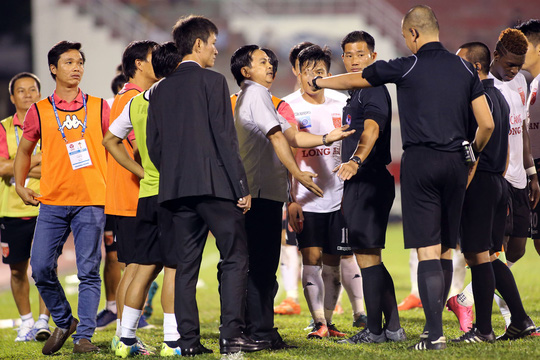 Huge bans for players that opposed controversial referee decision