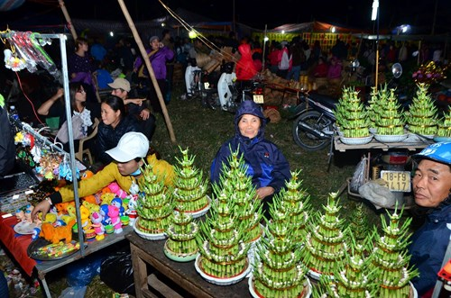 Chợ Viềng: Thousands Flock To Vieng Market To Buy Luck