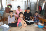 Five children call for help to continue studying