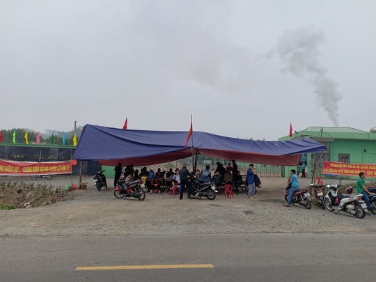 Ky Anh residents continue pollution protest