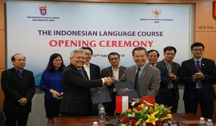Indonesian to be taught at Hanoi university