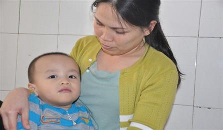 Single mother calls for help to save son from cerebral palsy