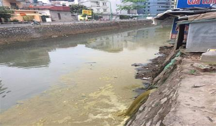 Hospital accused of polluting river