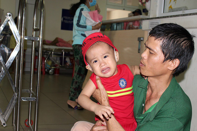 Father struggles to take care of ill son and wife