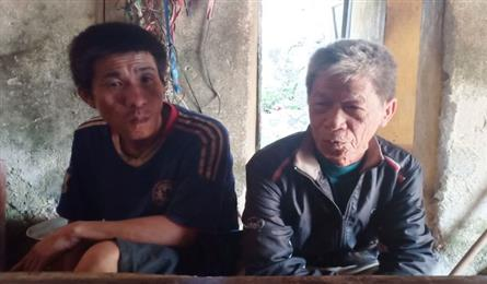 Old father struggles to raise mentally-ill son