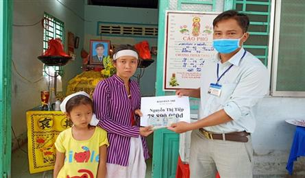 Dantri readers support poor family in Can Tho City