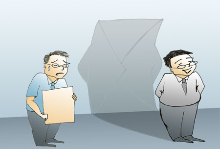 Ministers address the envelope syndrome