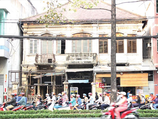 HCM City wavers in preserving French villas