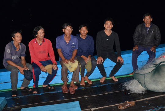 Six fishermen survive Chinese vessel attack