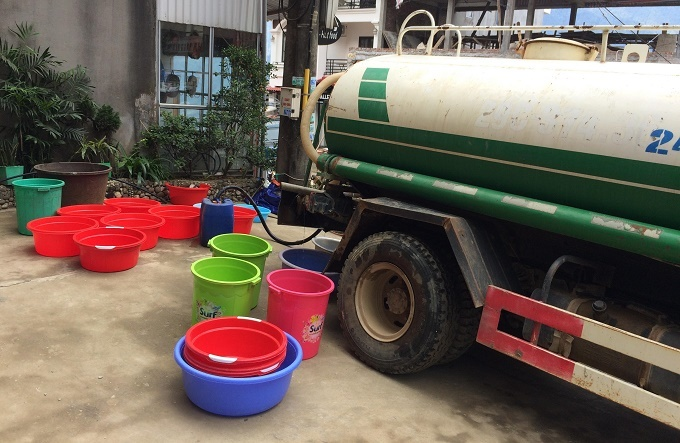 Sapa races to deal with water shortage