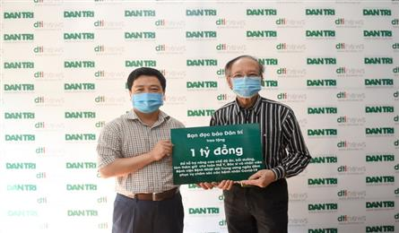 Dantri reader donates VND1bn to Hanoi hospital to fight Covid-19
