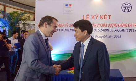 France helps Hanoi to better manage air quality