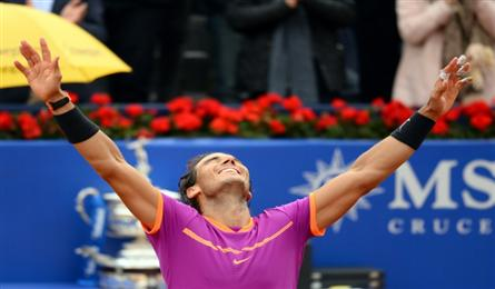 Red-hot Nadal wins 'dream' 10th Barcelona Open