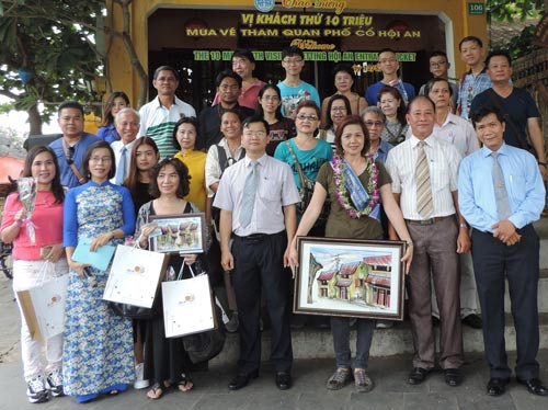 Hoi An welcomes the 10 millionth visitor