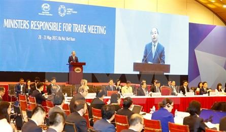 APEC trade ministers seek deeper cooperation